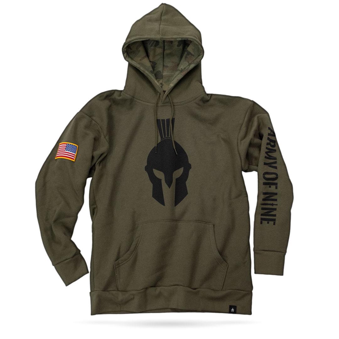wholesale dealer bdf8b 5814a Military Green Hoodie