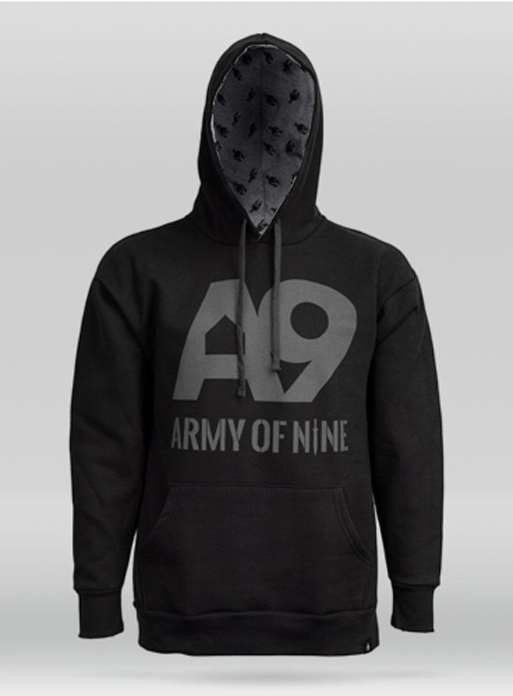 A9 Black Hoodie